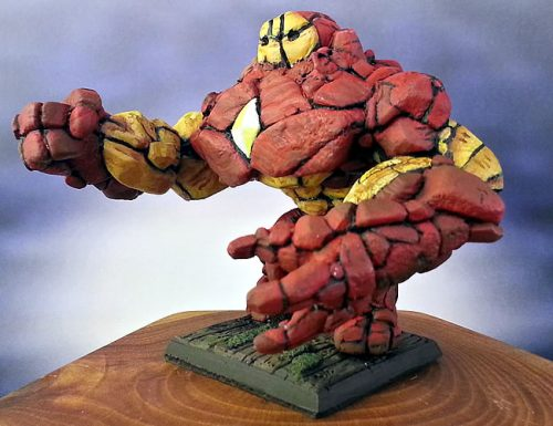 Show Off: Large Earth Elemental (Inspired by Marvel's Hulkbuster Iron Man)