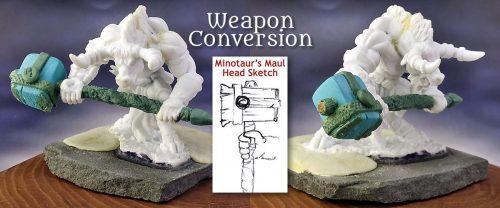 Weapon Conversion :: Bones Minotaur Gets a Maul