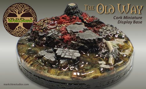 "Show Off :: Cork Diorama Base :: ""The Old Way"""