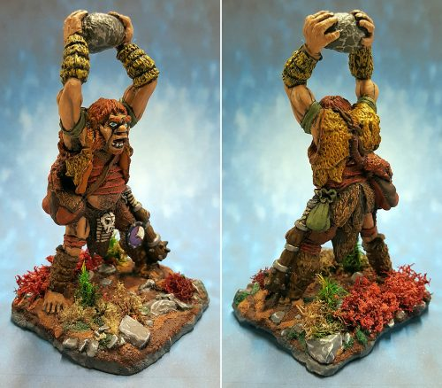 Show Off :: Reaper Miniatures :: 02770 :: Lunkh, the Hill Giant and the Silver Dragon Egg