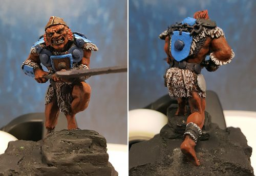 WIP 2 :: Dungeons & Dragons Fire Giant :: Stalking the Steps :: Wizards of the Coast :: WOC40022