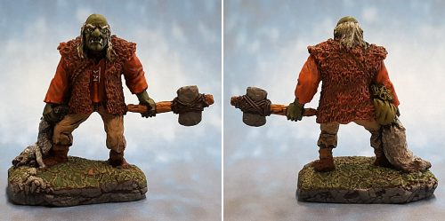 Show Off :: Reaper Miniatures :: 02127 :: Giant Mountain Troll :: The Old Troll and the Boar