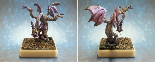 Show Off :: Hordes of Things :: 15mm Jabberwocky, Daughter's Christmas Gift