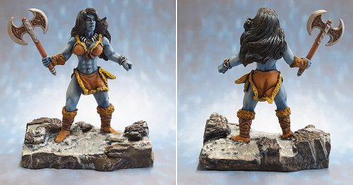 Show Off :: Frulla Krung, Frost Giantess :: 02622 :: Reaper Miniatures