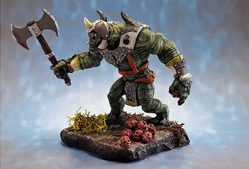Show Off :: The Skull Collector :: 02877 :: Mountain Troll :: Reaper Miniatures