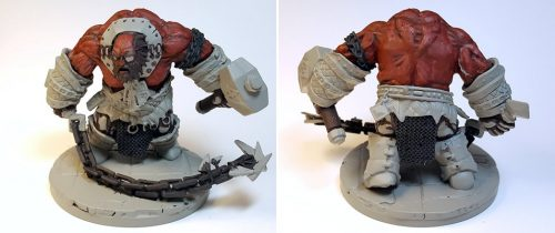 WIP :: Fire Giant Jailor :: Bones 3 :: Reaper Miniatures