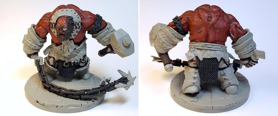 WIP :: Fire Giant Jailor :: Bones 3 :: Reaper Miniatures ...